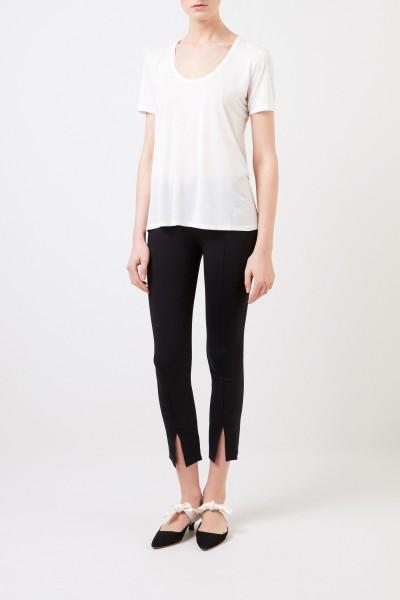 Klassisches T-Shirt 'Stilton' Weiß