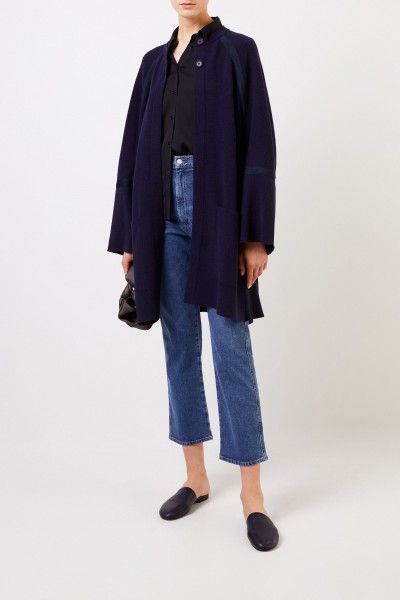 Chloé Wool knit coat Stormy Night