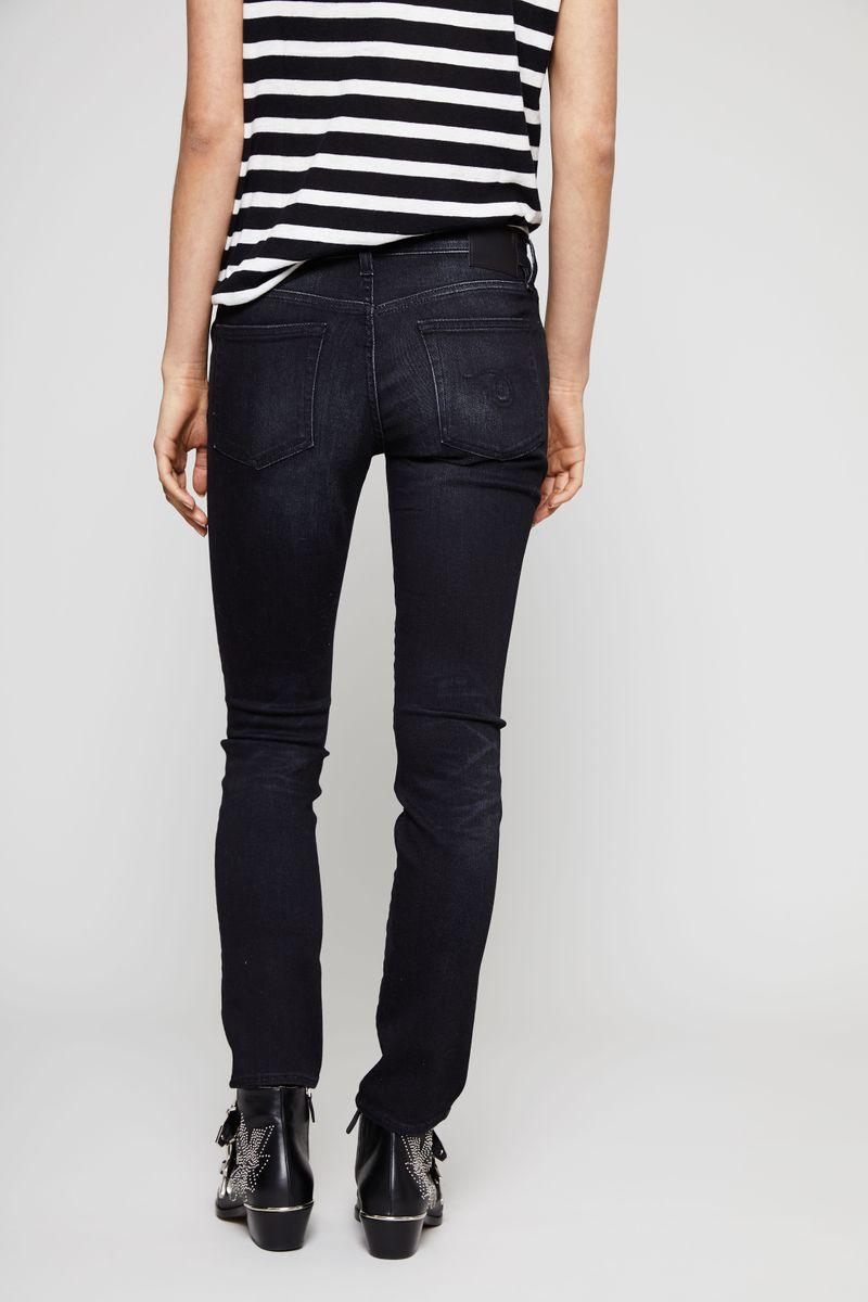 Jeans 'Kate-Skinny' Schwarz