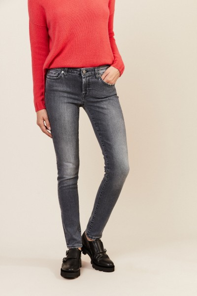 Jeans 'Pyper Slim Illusion' Grau