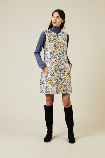Kurzes Kleid 'Abigail' mit floralem Print Multi
