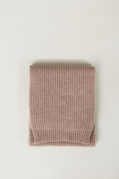 Cashmere-Schal Taupe