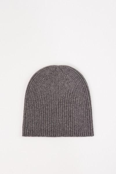Uzwei Wool cashmere hat Grey