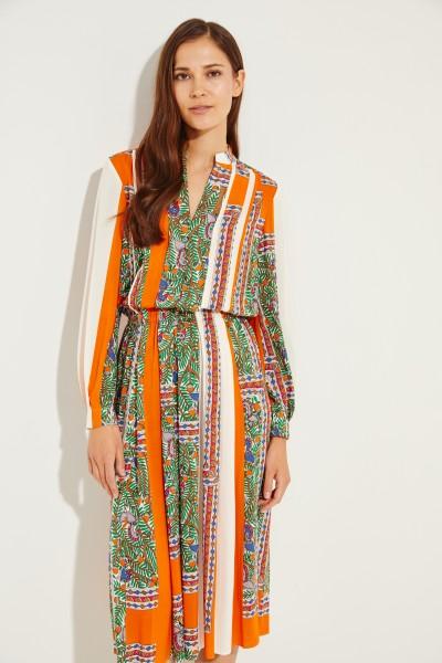 Kleid mit Print Multi