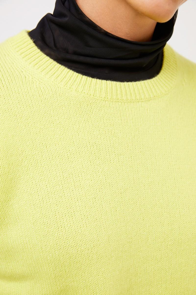 Joseph Klassischer Cashmere-Pullover Lime