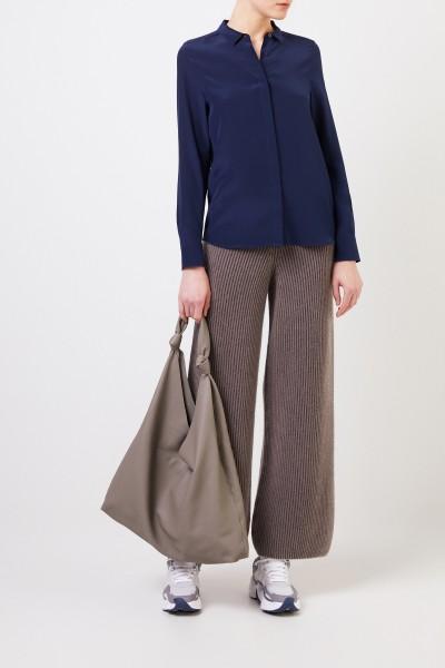 Seiden-Bluse 'Madelina' Marineblau