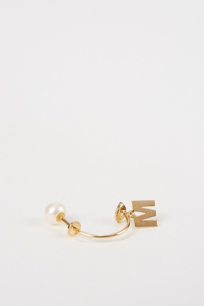 Delfina Delettrez Earring 'Micro Eye O' Yellow Gold