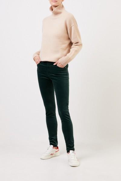 AG Jeans Skinny Jeans 'The Farrah' Grün