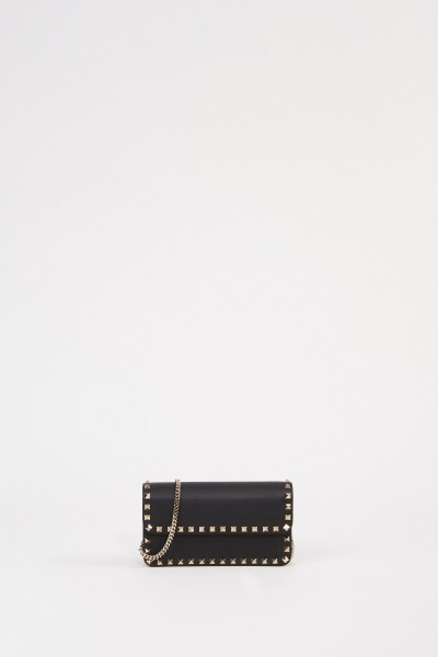 Shoulder bags with studs Black