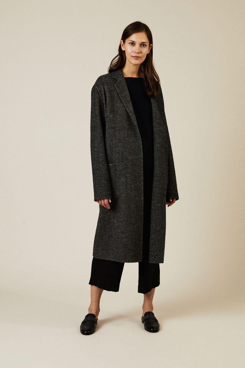 Cashmere Pullover mit Schlitzen Dunkelblau
