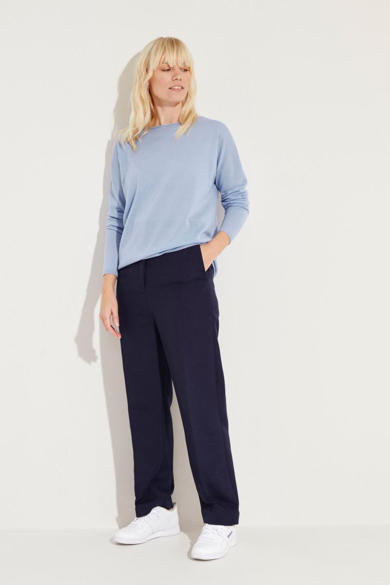 Cashmere-Pullover 'Lana' Blau