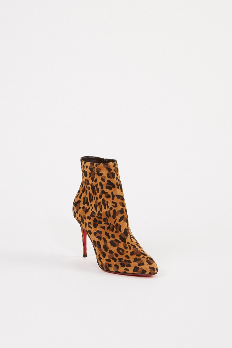 Christian Louboutin Ankle Boots 'Eloise Booty 85' Schwarz