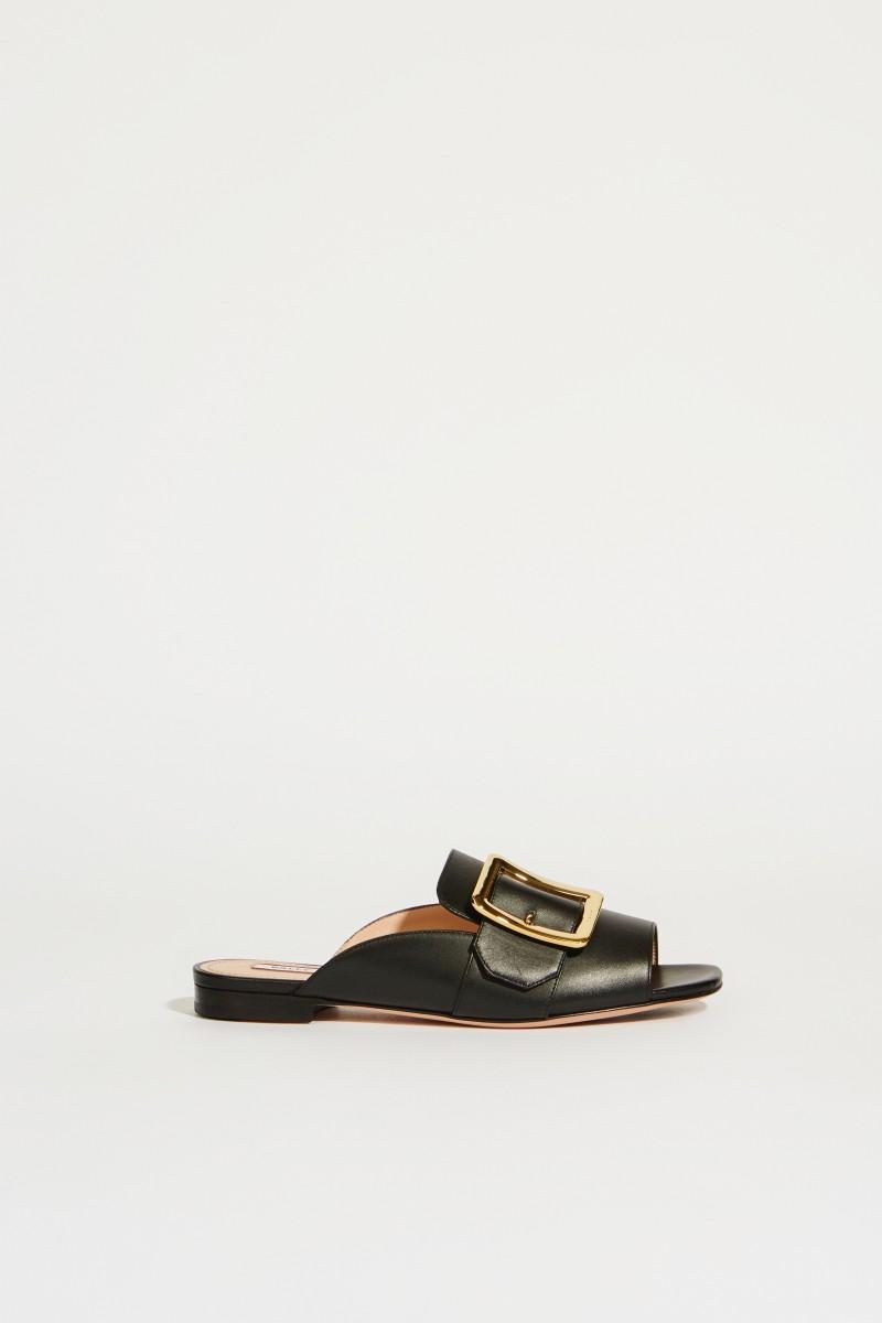Leder-Sandale 'Janaya' Schwarz
