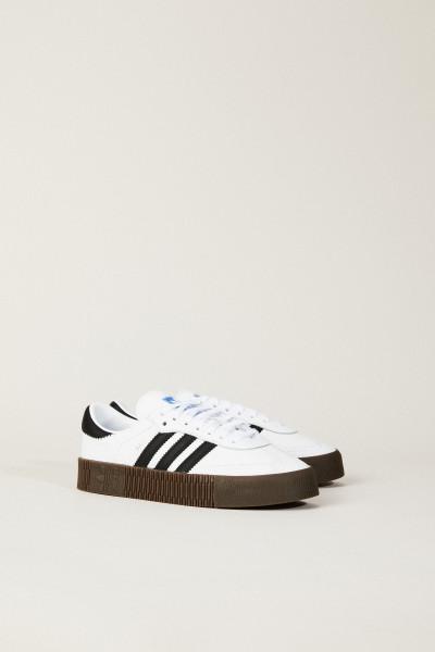 Sneaker 'Sambarose W' Weiß/Schwarz