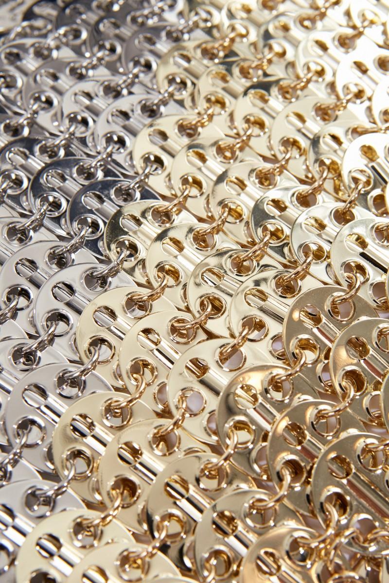 Umhängetasche Silber/Gold