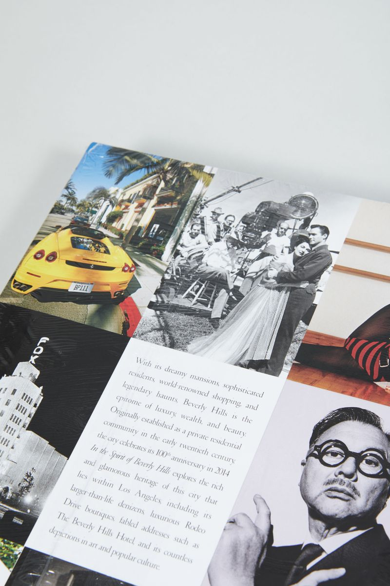 Buch 'In the Spirit of Beverly Hills' 100th Anniversary Edition