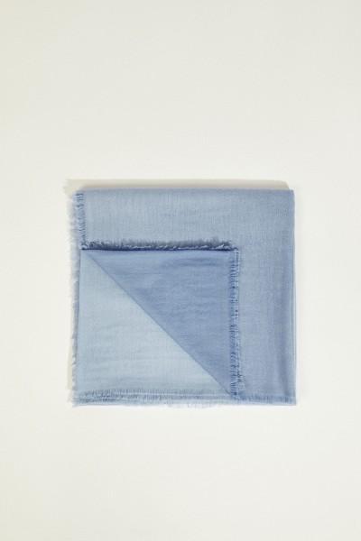 Cashmere-Tuch 'Heidi' Blau