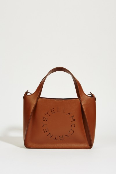 Shopper mit Stella-Logo 'Crossbody Logo Bag' Cinnamon