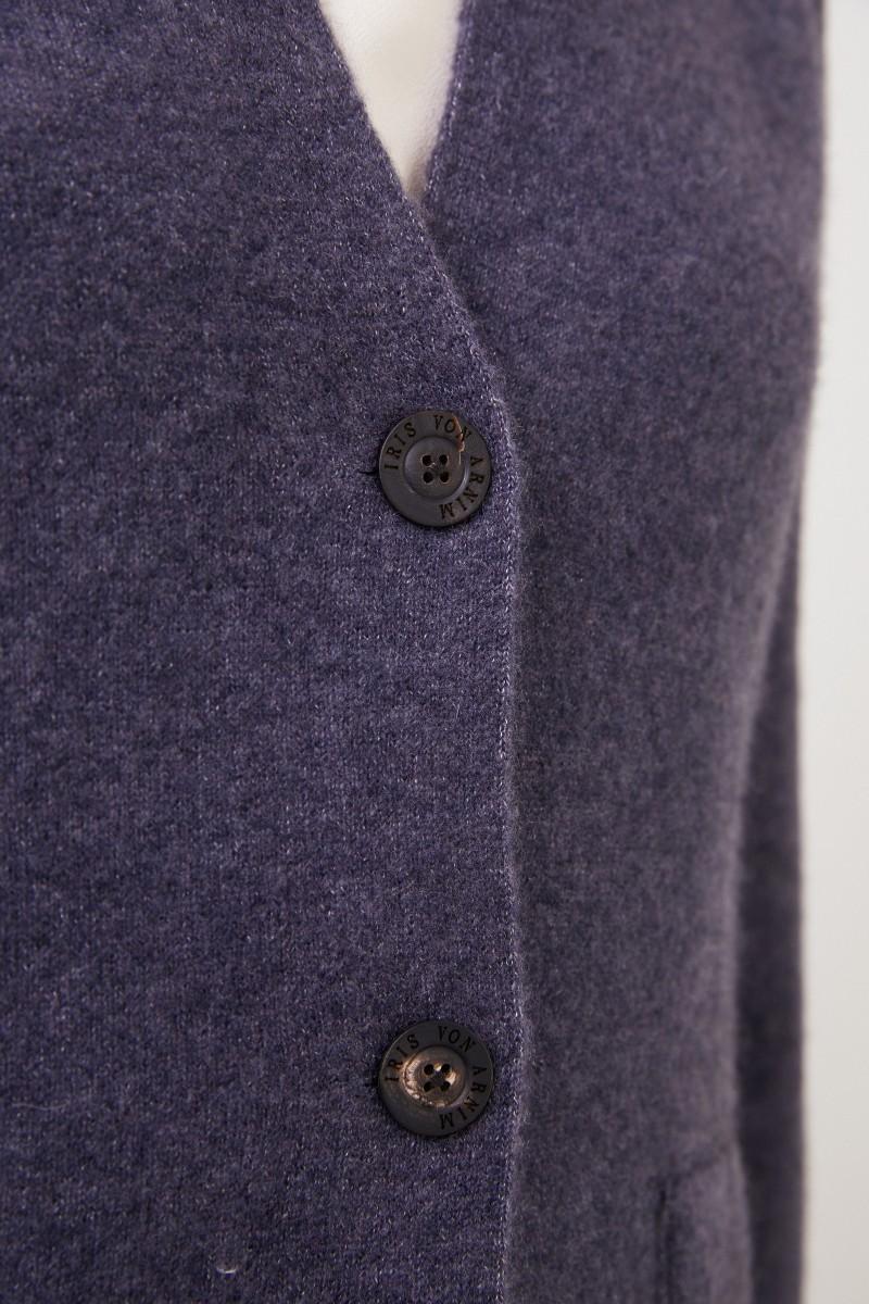 Iris von Arnim Doubleface Cashmere-Blazer 'Pacita' Blau