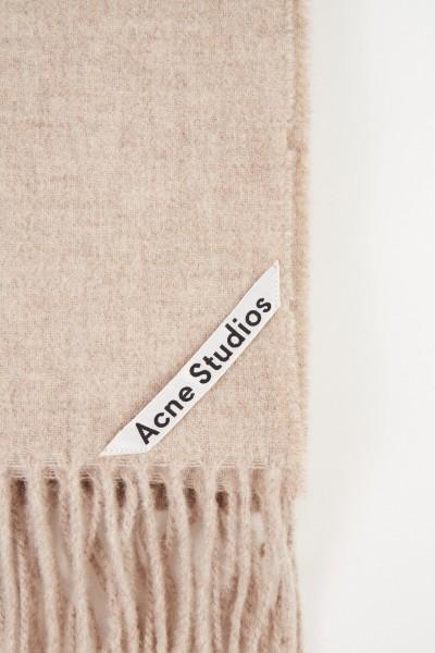 Acne Studios Klassischer Wollschal 'Canada New' Oatmeal Melange