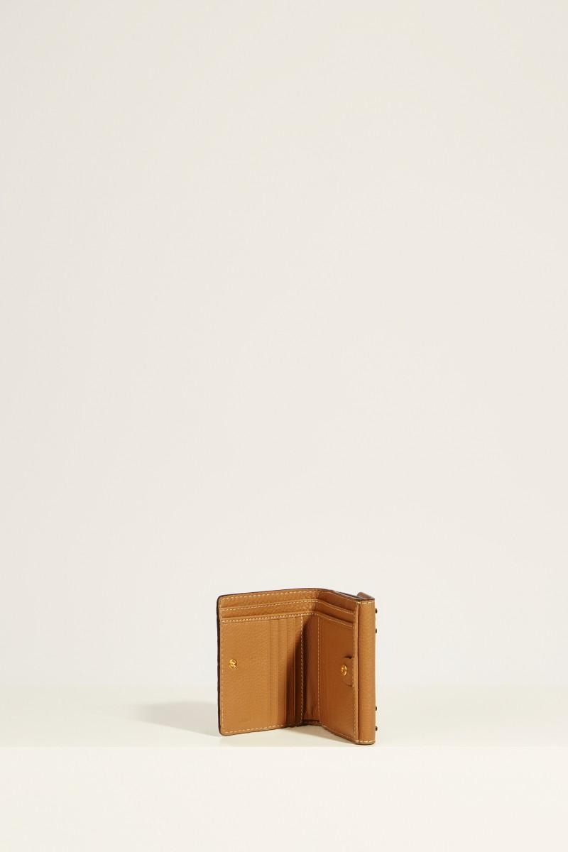 Leder-Portemonnaie 'Marcie' Nut