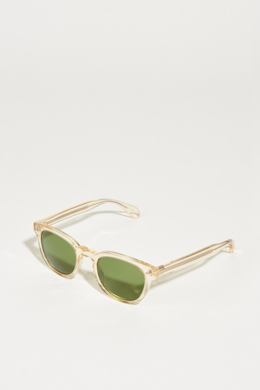 Oliver Peoples Sonnenbrille 'Sheldrate Sun' Hellbeige