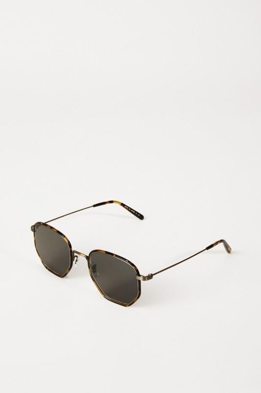 Sonnenbrille 'Alland' Gold/Grau