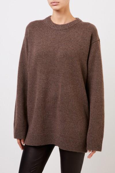 The Row Cashmere-Pullover 'Vaya' Braun Melange