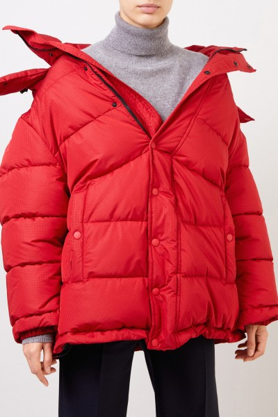 Balenciaga Down jacket with hoof Red