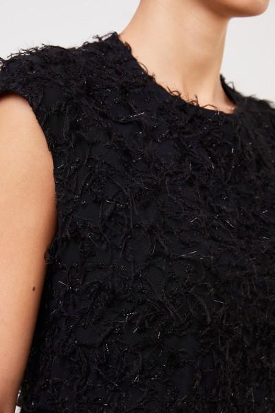 Fabiana Filippi Long evening dress with details Black