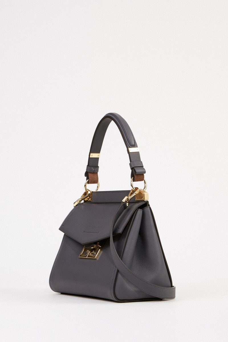 Givenchy Tasche 'Mystic Small' mit Double G Logo Grau