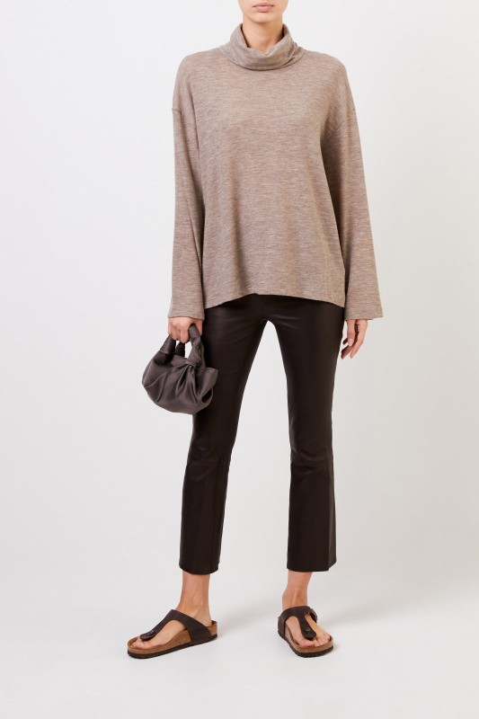 The Row Cashmere-Pullover 'Zalani' Taupe Melange