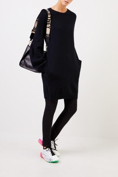 Long Wool Sweater Black