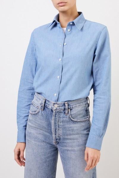 Aspesi Cotton Blouse Blue