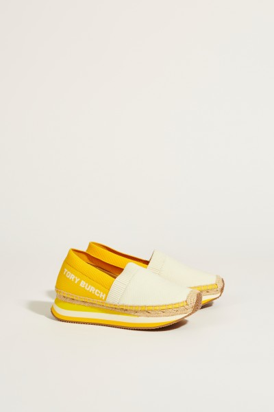 Slip-On Sneaker 'Daisy' Crème/Gelb
