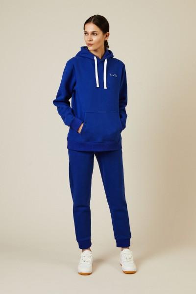 Hoodie Electric Blue