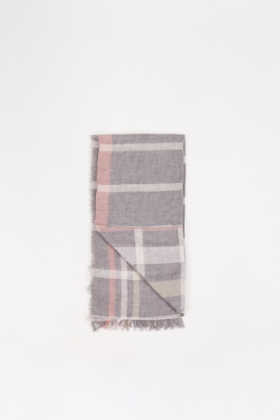 Fabiana Filippi Wool scarf with Lurex-Detail Multi