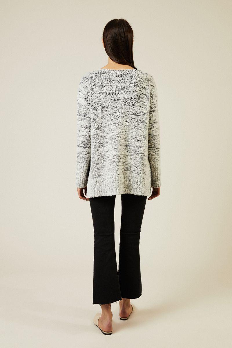 Woll-Pullover Grau