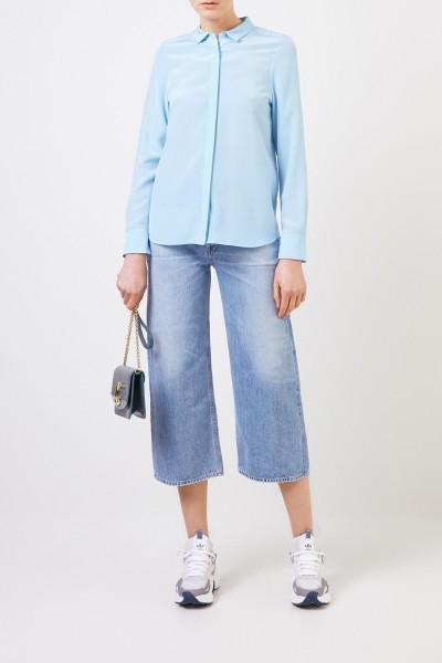 Iris von Arnim Silk blouse 'Alessandra' Blue