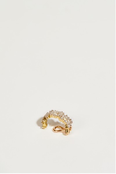 Ana Khouri Ear Cuff 'Mirian' with Diamonds Gold
