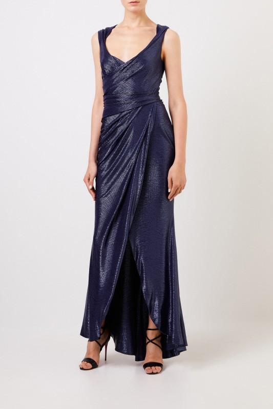 purchase cheap 6bd02 b7bc9 Langes Abendkleid 'Towanda1' Dunkelblau