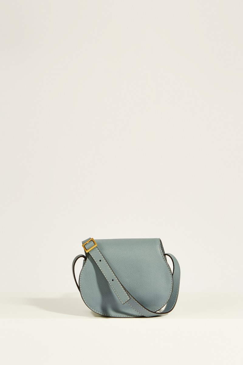 Umhängetasche 'Marcie Saddle Small' Cloudy Blue