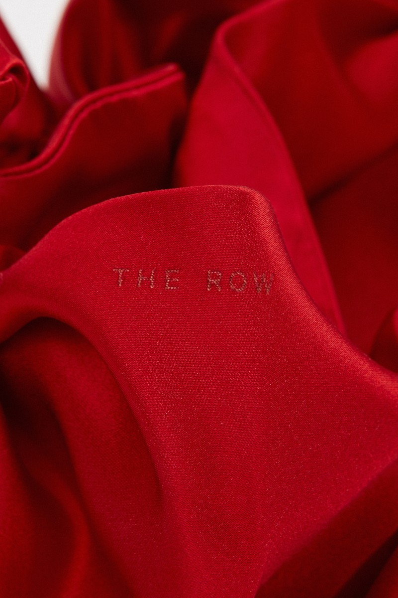 The Row Mini shopper 'Ascot Two' Red