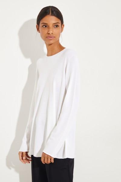 Woll-Pullover 'Sabel' Crémeweiß