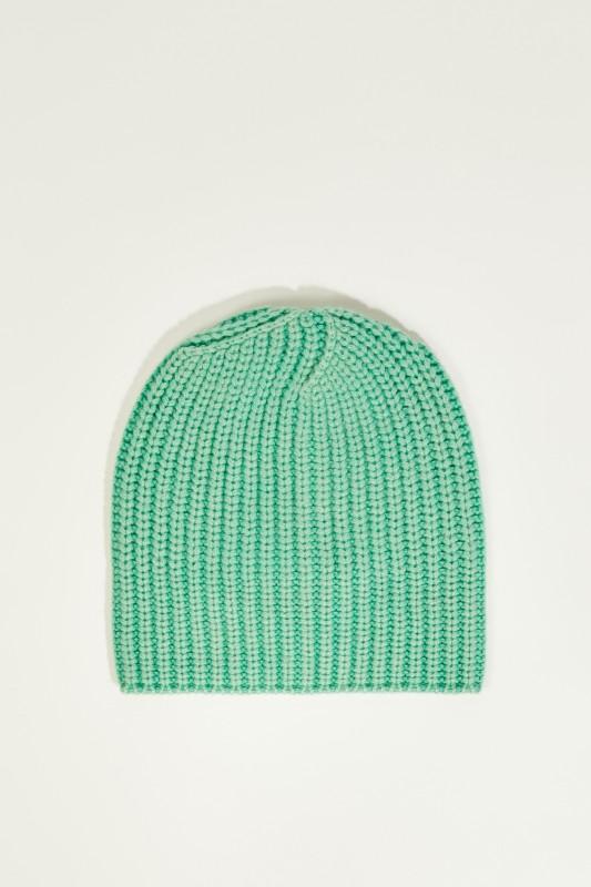 Cashmere-Mütze 'Amelia' Grün