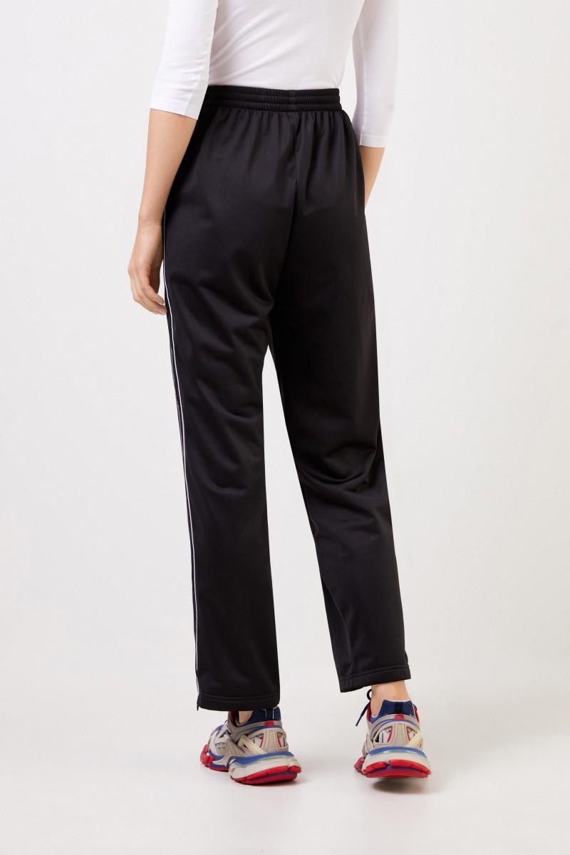 Balenciaga Hose mit Reißverschlüssen Schwarz