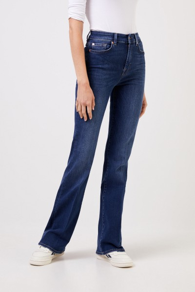 7 for all mankind Bootcut-Jeans 'Lisha' Blau