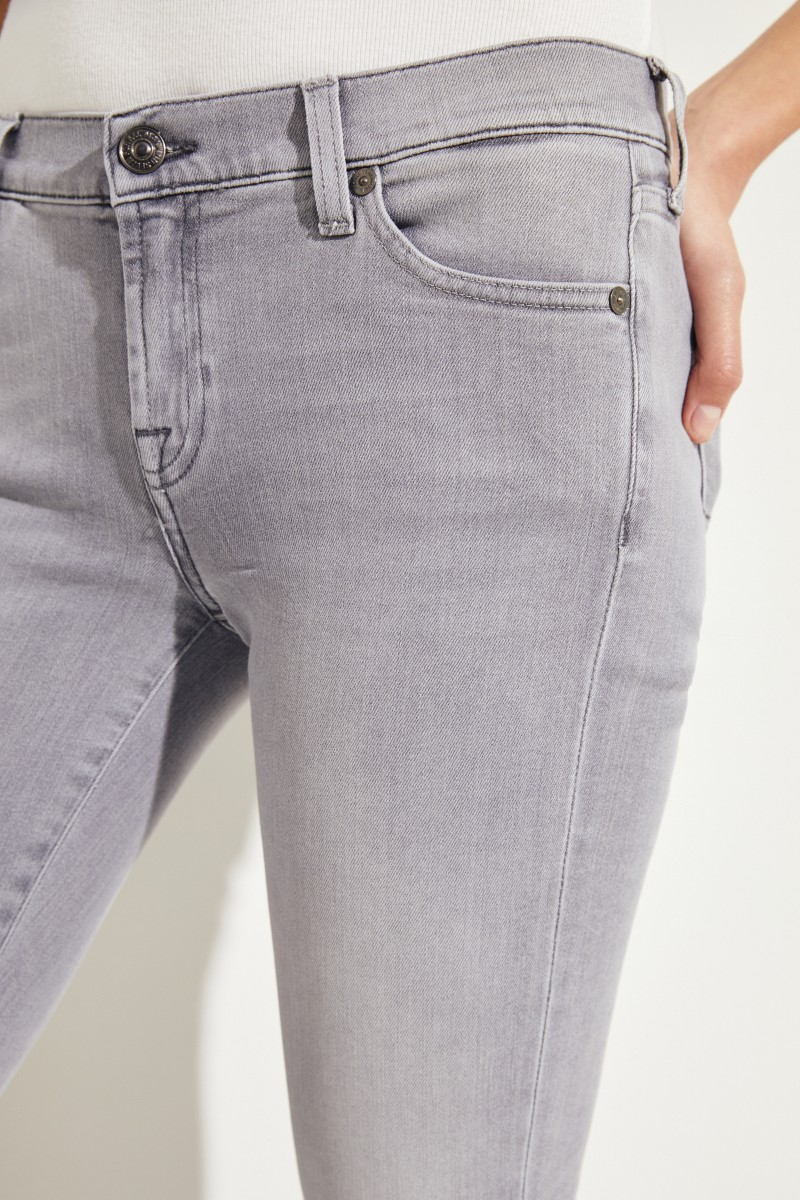 7 for all mankind Jeans 'The Skinny' Grau