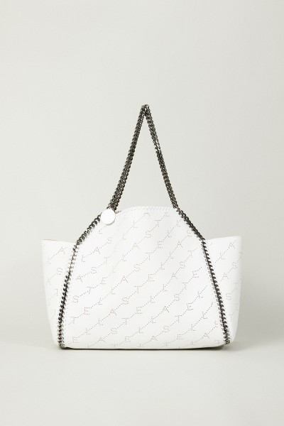 Wende-Shopper mit Stella-Logo 'Tote Bag' Weiß/Beige