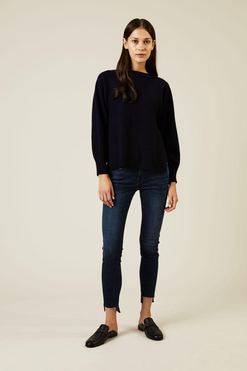 Skinny Jeans 'Le Skinny de Jeanne' Dunkelblau